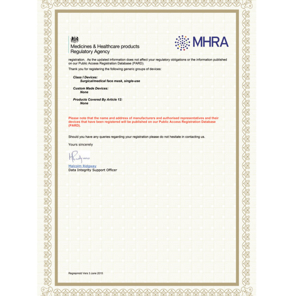 Medicines & Healthcare products Regulatory Agency